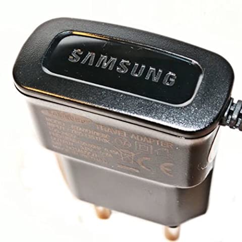 Original Samsung Handy Ladegerät Ladekabel - Schwarz - für kompatible Samsung Mobiltelefone mit Micro USB Anschluss