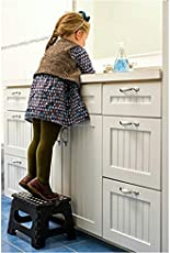 Anii Foldable Step Stool For Kids & Adults, Kitchen Garden Bathroom Stepping Stool,holds up to 150 KG