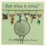 That wine is mine! Wine Glass Charms - Fore