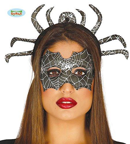 Fiestas Guirca GUI19786 - Set: Maske und Spinnen-Diadem