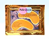 palestren Collagen Eye Masken – 10 x Paar Kristall Gold Anti-Falten Anti-Aging unter Eye Gel Patch Puder Maske Facial Moisturizer