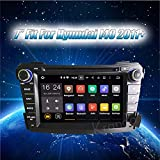 Autoradio Krando ANDROID 7.1 AUTORADIO DVD PLAYER MULTIMEIDA PER HYUNDAI I40 2011 2012 + CAR GPS NAVIGATION SYSTEM WIFI 3G DAB+