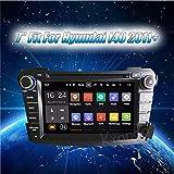 Autoradio Krando ANDROID 7.1 AUTORADIO DVD PLAYER MULTIMEIDA PER HYUNDAI I40 2011 2012 + CAR GPS NAVIGATION SYSTEM WIFI 3G DAB+