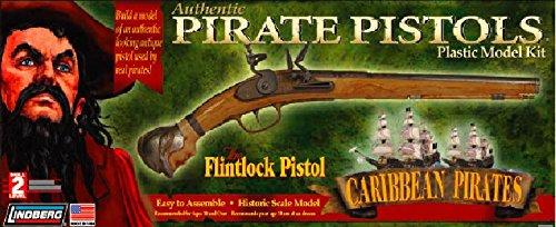 Lindberg Model Kit - Caribbean Pirates - Flintlock Pistol - 1:1 Scale - ()