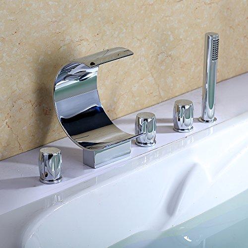 homelody-robinet-cascade-feuille-demi-lune-3-poignees-de-commandes-et-douchette-retractable-pour-bai