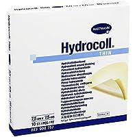 Hydrocoll Thin Wundverband 7,5x7,5 cm, 10 St preisvergleich bei billige-tabletten.eu