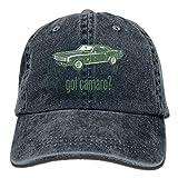 fgjfdjj 1969 Chevrolet Camaro SS Hat Snap-Back Hip-Hop Cap Baseball Hat Head-Wear Cotton Trucker Hats Natural