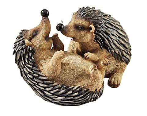 Classic Hedgehogs Animal Home Garden Statue Sculpture Figurine by Artistic Solutions
