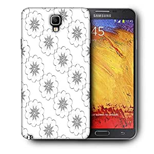 Snoogg Covering Chakra Printed Protective Phone Back Case Cover For Samsung Galaxy NOTE 3 NEO / Note III