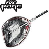 Fox Rage Speedflow II Large Net 74x74cm - Kescher zum Angeln, Unterfangkescher zum Spinnfischen, Fischkescher zum Raubfischangeln