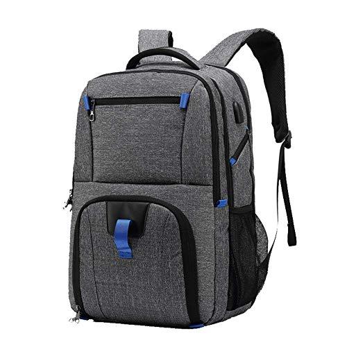 77fc2c2574 Zaino da 17.3 \Laptop bag da viaggio Travel Travel Burglar College Backpack  da ricarica USB