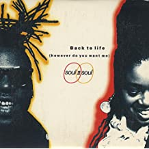 """BACK TO LIFE (HOWEVER DO YOU WANT ME) [3"""" CD SINGLE]"""