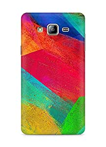 Amez designer printed 3d premium high quality back case cover for Samsung Galaxy ON5 (Pattern Colourful)