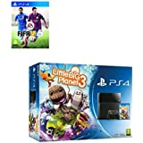 Sony Playstation 4 Console PS4 500GB Little Big Planet 3+ FIFA 15 Bundle Games Great Games from PS4 for the under 12 by PlayStation 4