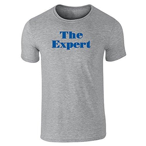 Pop Threads Herren T-Shirt Grau