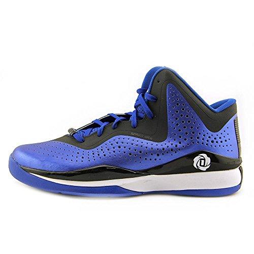 Adidas D Rose 773 III Men's Basketball Shoe 10 Aluminum-Nero-bianco Royal-Black-White
