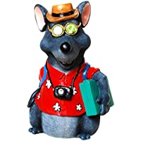 Spardose Polyresin Maus in Urlaubsstimmung 16x11cm preisvergleich bei kinderzimmerdekopreise.eu