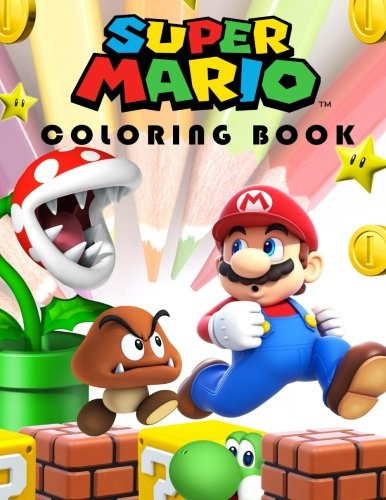 Book: Color by Numbers, Mazes, Coloring Pages and More. (Mario Maze)