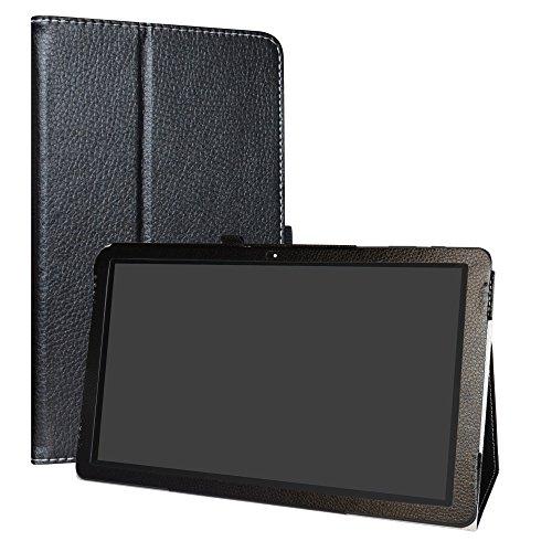 Diseño específico para TrekStor SurfTab theatre 13.3 Android Tablet PC. TLa buena calidad de PU cuero impulsa un aspecto elegante. Conveniente stand posición para ver la película o escribir.Cierre magnético que mantiene la funda cerrada.Con Stylus Pe...