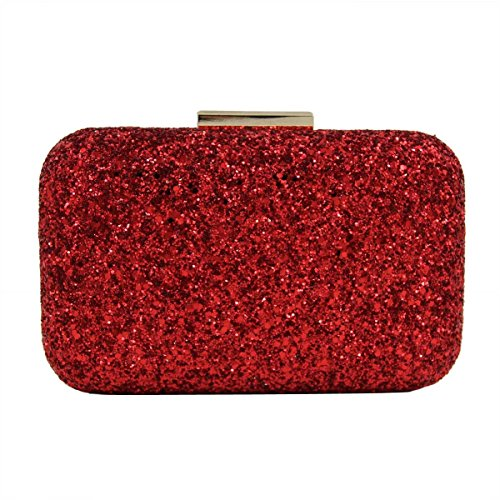 High-end Bag Borsa Da Sera Lucido Delle Donne Red