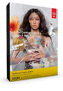 Adobe Creative Suite 6 Design & Web Premium Student and Teacher*