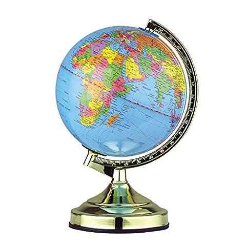 Illumini 13-inch Globe Touch Lamp with