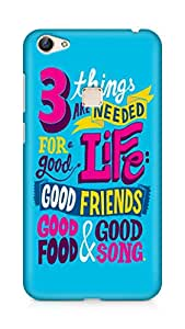 Amez designer printed 3d premium high quality back case cover for Vivo X6 (Inspirational quotes things are needed for a good life)