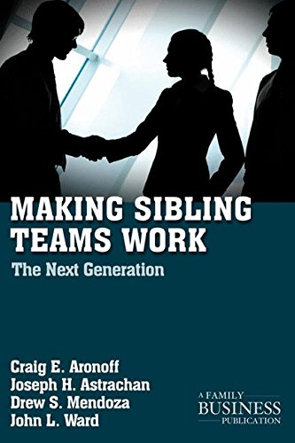 Making Sibling Teams Work: The Next Generation (A Family Business Publication)