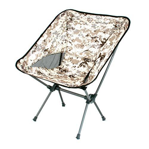 Sedia da campeggio esterna sedia pieghevole sedia da pesca portatile sedia da spiaggia sedia da dondolo sul retro sedia da barbecue sgabello sedia da regista sedia da luna colorata ( color : green )