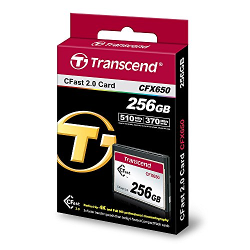Cheap Transcend CFast 2.0 CFX650 256 GB Memory Card Special