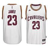 NBA LeBron James, Cleveland Cavaliers swingman Jersey Trikot - Neu (Weiß, S - (44-46))