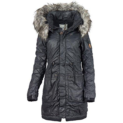 Khujo Julita 1562CO163 Damen-Winterjacke Black 200