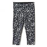 adidas Damen Ultimate Fit Capri Trainingstight, schwarz/Weiß, XS/30/32
