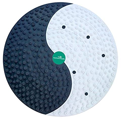 HealthPanion Set of Acupressure Fitness Foot Mat with Magnetic Design for Stress, Foot Pain or Back Pain Relief -