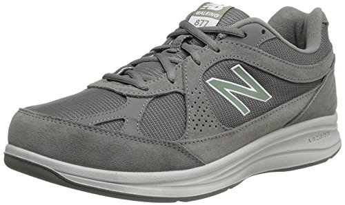 New Balance Men's MW877 Walking Shoe,Grey,11.5 4E US