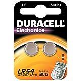 Duracell - Pile spéciale appareils électroniques - LR54 Petit Blister x2 (equivalent 189, V10GA, ...