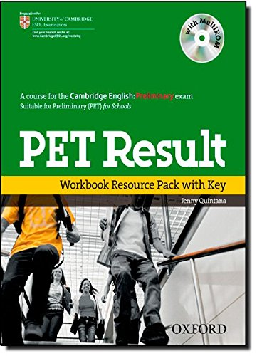 PET Result : Intermediate, Workbook Resource Pack (with Key), w. Multi-ROM (Preliminary English Test (Pet) Result)
