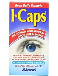 ICaps lutéine et la zéaxanthine Comprimés Formule Paquet de 30