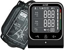 smartLAB pressure monitor de presión arterial del brazo superior | Instrumento para medir la presión arterial en negro