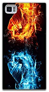 The Racoon Lean Flames hard plastic printed back case / cover for Xiaomi Mi3