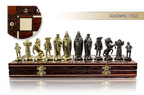Luxus mittelalterlichen GOLD 40cm/16