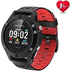 Reloj inteligente,Reloj deportivo con altímetro/ barómetro /termómetro y GPS incorporado, rastreador de fitness para correr, senderismo y escalada,reloj corriendo para hombres, mujeres y aventureros.