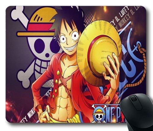 Alfombrilla de ratón Luffy y su sombrero