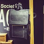 Vent sauvage sacs à bandoulière pour hommes et femmes en Europe et Amérique latine men's casual sac à dos,Black