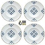 Vista Alegre - Plato de sopa (porcelana, 4 unidades)