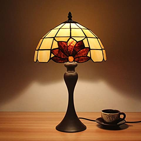 Lampe Tiffany - 10 pouces Creative Tiffany simple style vitrail