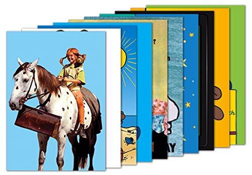 10er-Set: Postkarten A6 +++ MIX SET Nr. 1 von modern times +++ 10 KINDERHELDEN-Motive +++