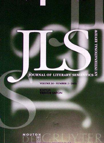 Journal of Literary Semantics [Jahresabo]