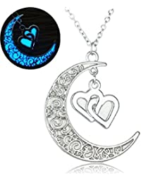El Regalo Silver Alloy Pendant Necklace for Women