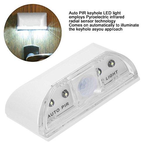 ulable LED Perlen PIR Infrarot-Erkennung Bewegungsmelder Home Tür Stairway Lampe (Ge-bewegungsmelder Led-licht)